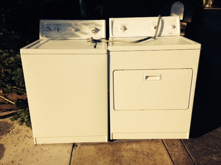 Kenmore 70 Series Washer And Dryer Free Must Take