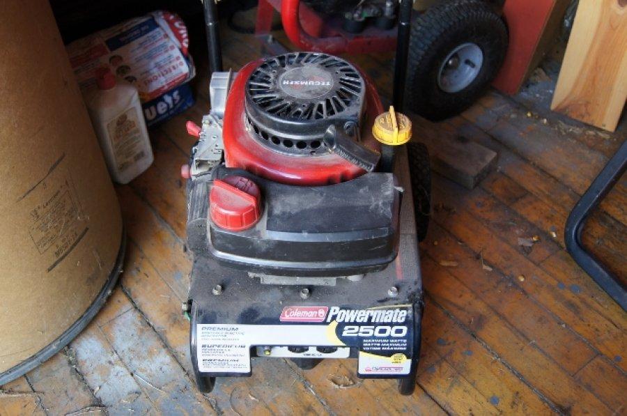 Coleman powermate 2500 parts er Owners Manual