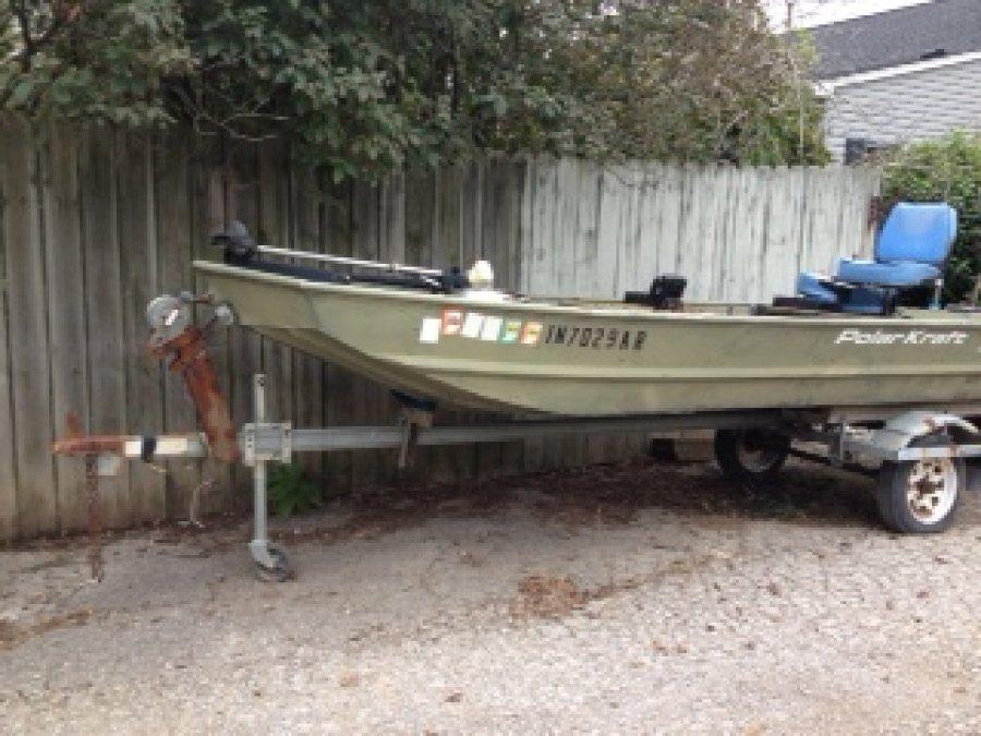 Polarcraft 16 Ft Boat Indiana Charlestown 850 Boat