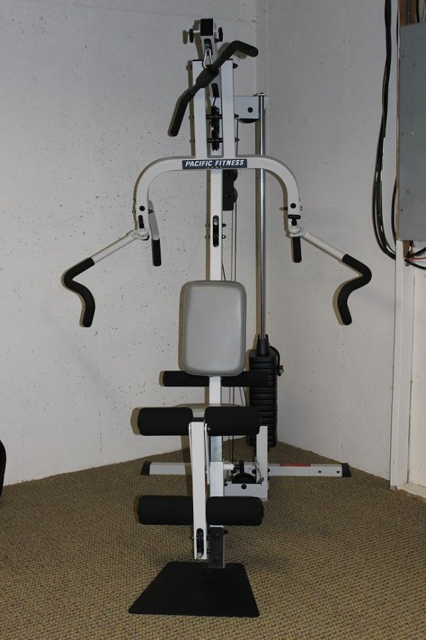 Weight machine pacific fitness zuma total gym georgia