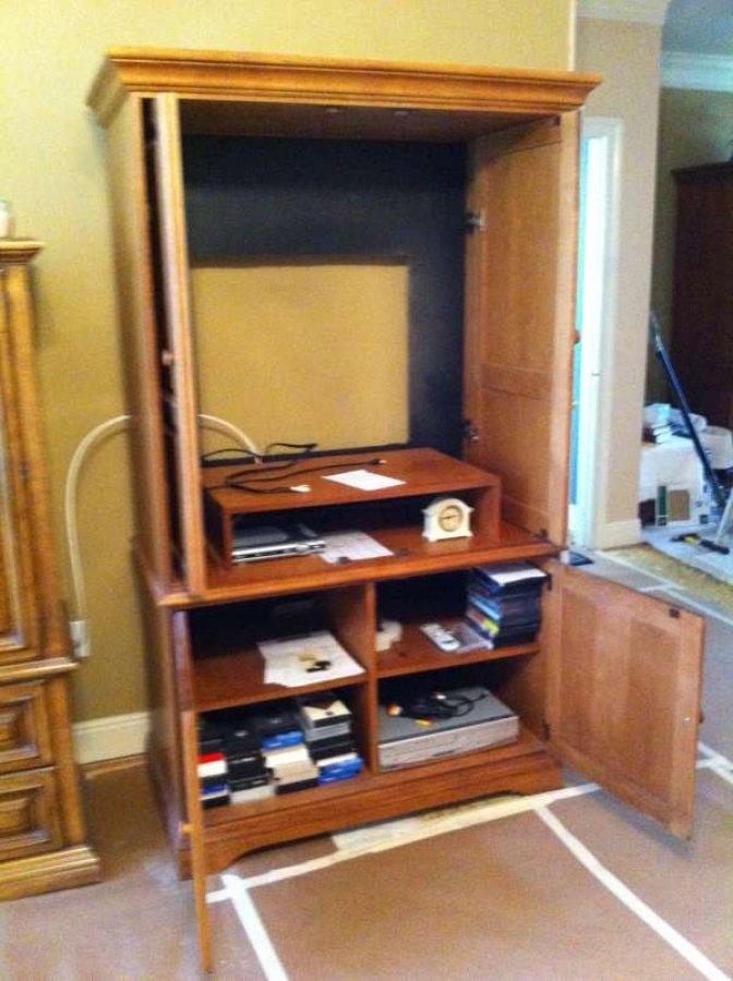 Tv Cabinet Stand 400 Louisiana Baton Rouge Riverbend Subdivision Home And Furnitures