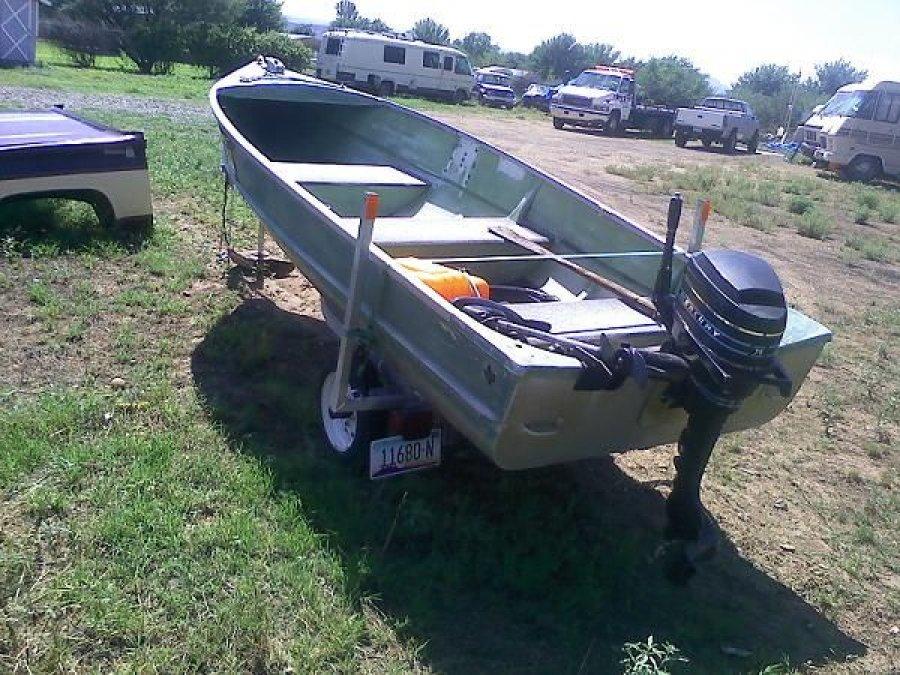 14 aluminum boat with trailer 900 las vegas boat for Black friday trolling motor deals