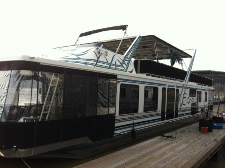 Houseboat 98 Sumerset 78x16 Kentucky Emerald Isle Marina