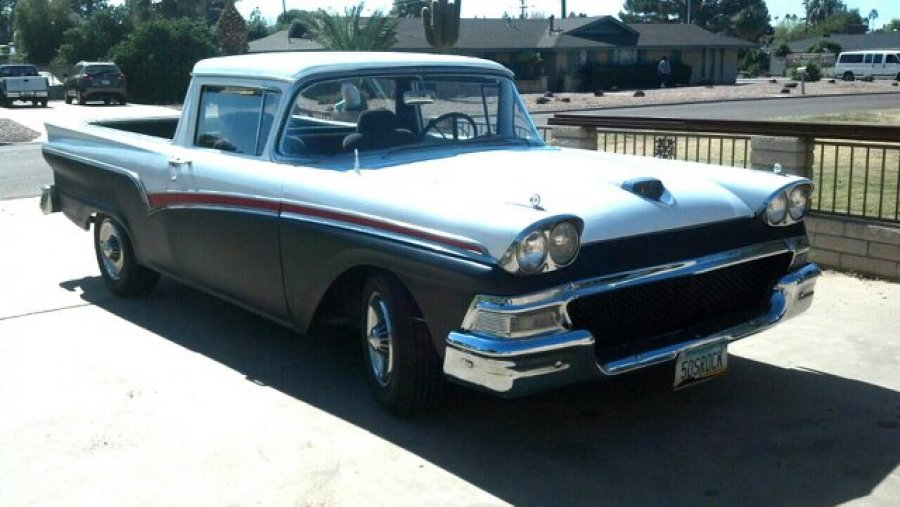 1957 ford ranchero usa mesa az pheonix vehicle deal. Black Bedroom Furniture Sets. Home Design Ideas