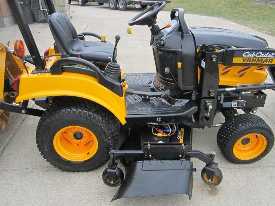 Cub Cadet Lawn Tractors 2010 : Cub cadet yanmar sc loader mower tiller