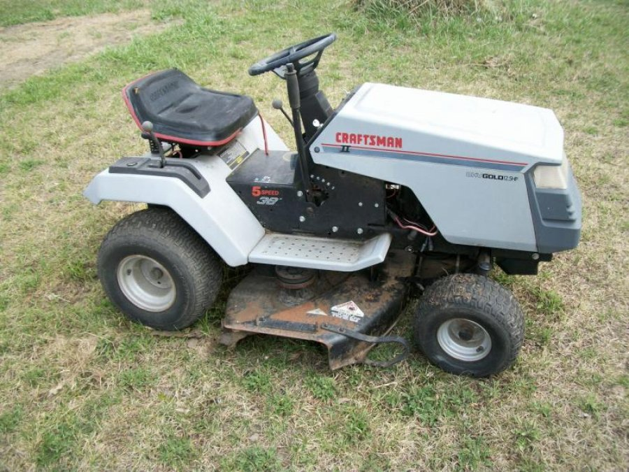 Craftsman Mower Part Riding Lawn Tractor : Craftsman lawn mower parts battery location