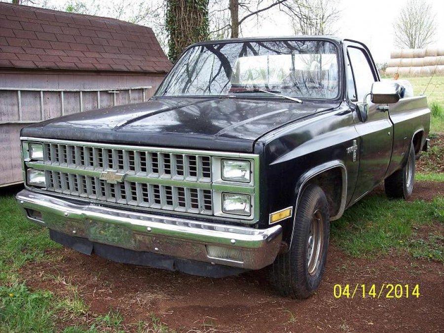 1985 chevrolet pickup for sale tennessee madisonville 37354 800 vehicle deal. Black Bedroom Furniture Sets. Home Design Ideas