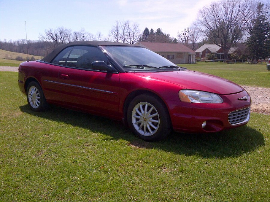 2002 chrysler sebring convertible usa chalk hill pa. Black Bedroom Furniture Sets. Home Design Ideas