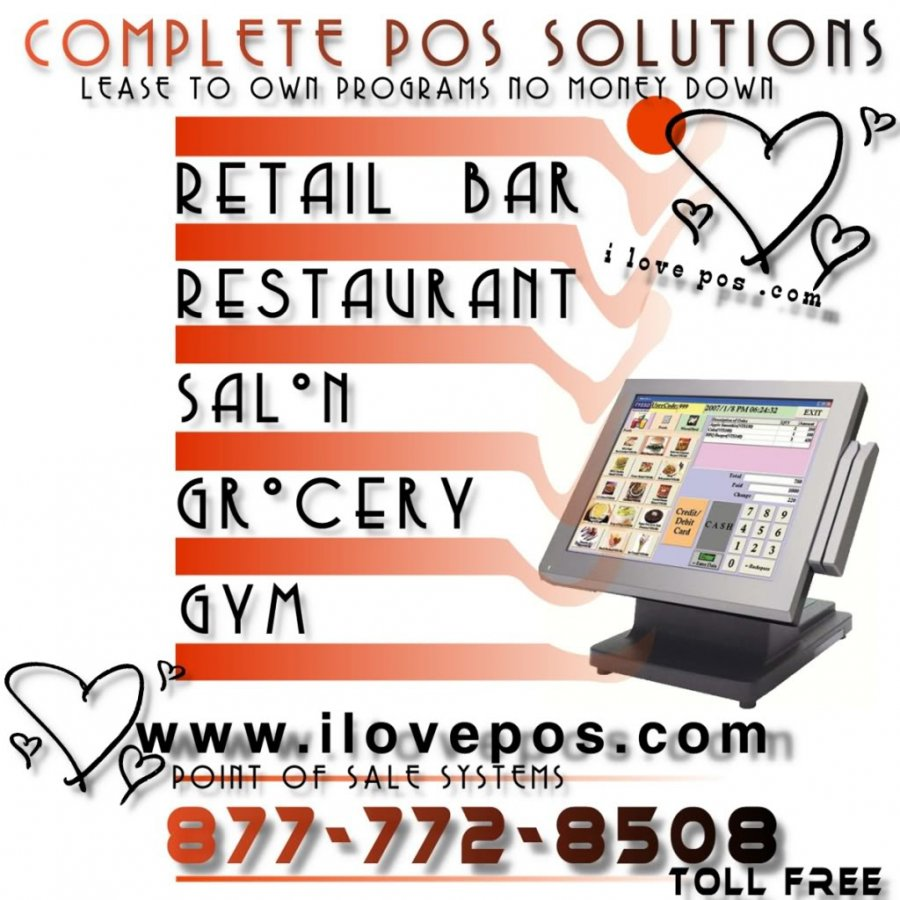 Huge Savings On Complete POS Systems Bundle Packages For