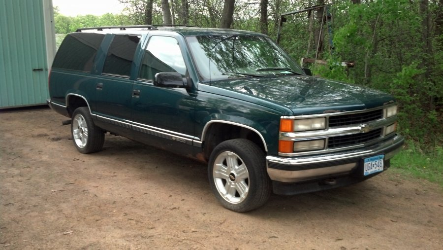 96 chevy suburban for sale 2 500 or best offer picture. Black Bedroom Furniture Sets. Home Design Ideas
