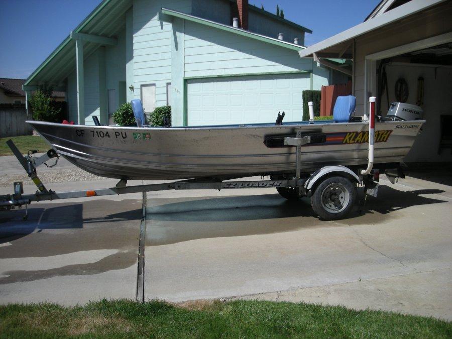 Aluminum Fishing Boat California Manteca 4500 Boat