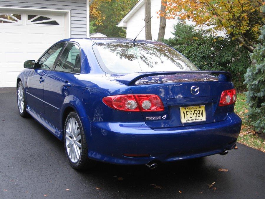 2004 Electric Blue Mazda6 S V6 W Mazdaspeed6 Premium