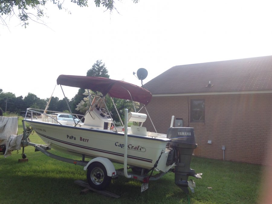 2007 cape craft with 90 horse yamaha motor and gps for Gps trolling motor for sale