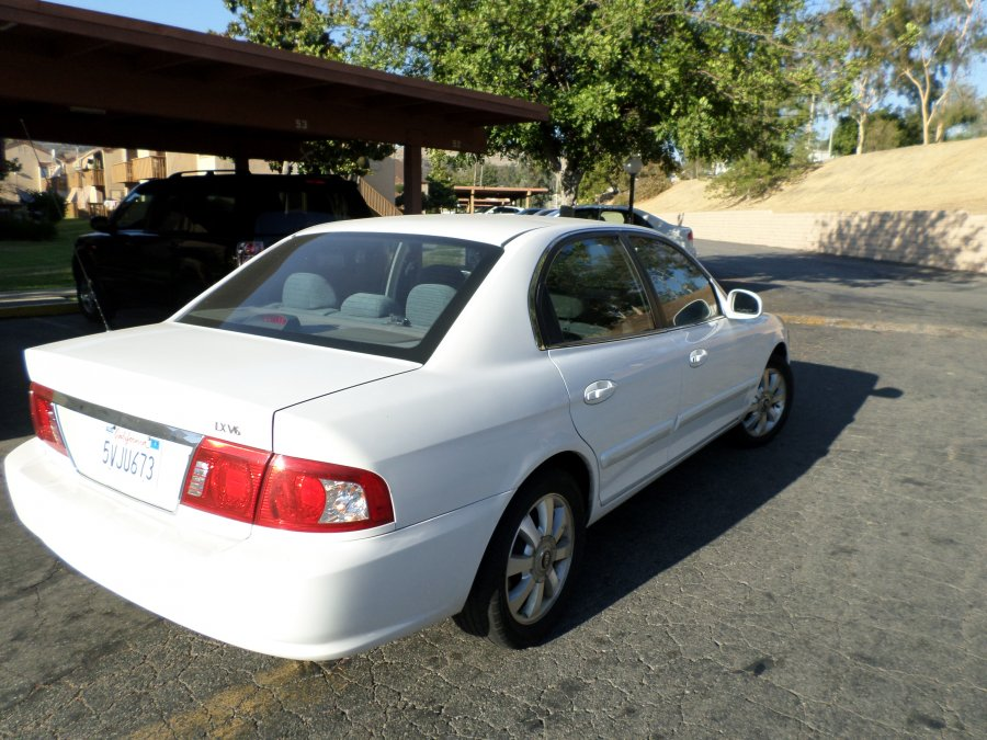 Kia West Covina >> Kia Optima 2004 LX V6 2.7L white color,good condition ...