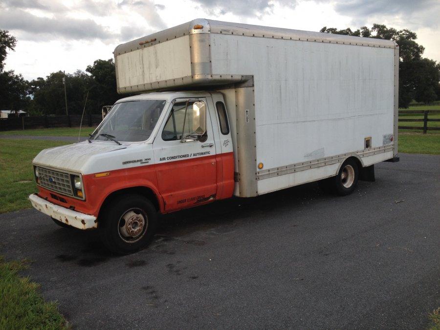 1989 Ford E 350 Uhaul Truck For Sale Florida Ocala