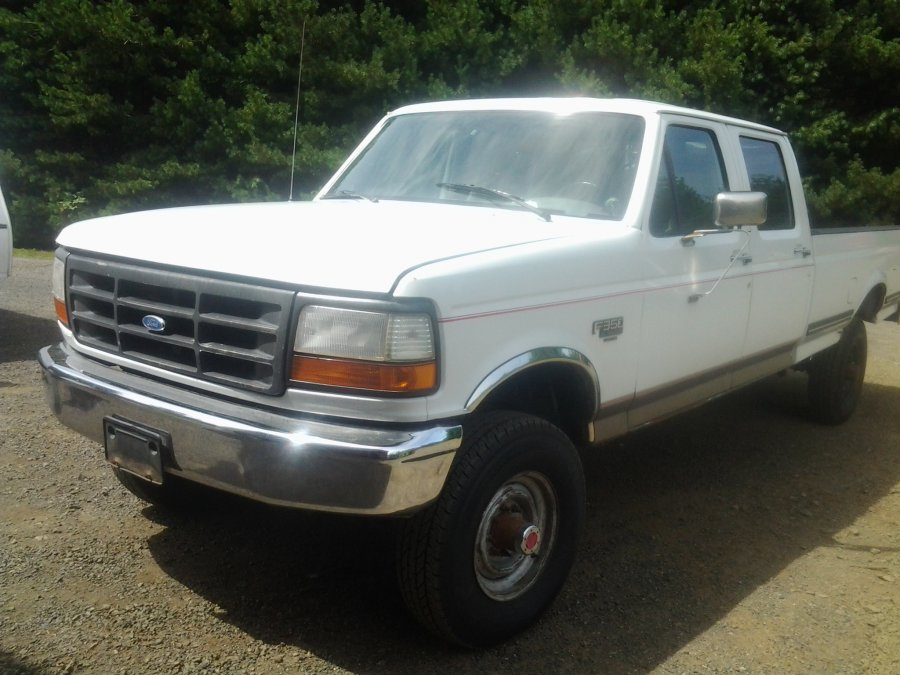 1995 ford f350 xl crew cab 4x4 washington aberdeen. Black Bedroom Furniture Sets. Home Design Ideas