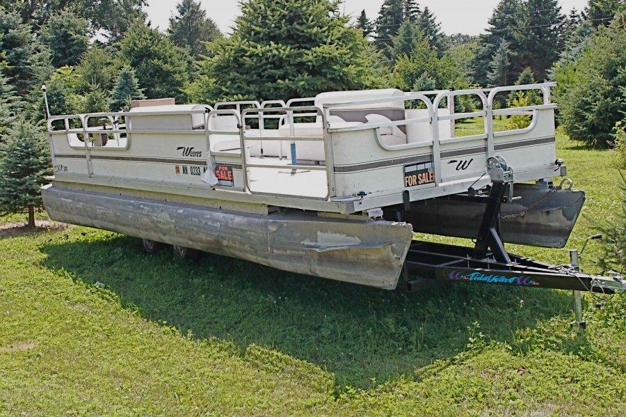 24 1974 Kayot Pontoon Boat Minnesota Mankato Boat