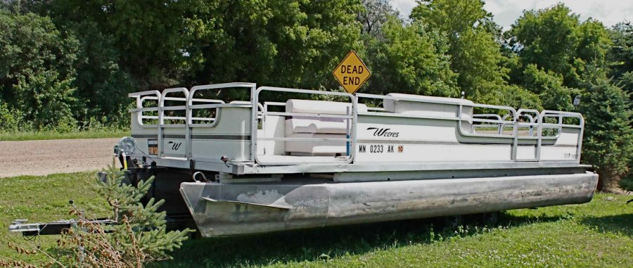 1974 Kayot 24 Quot Pontoon Boat 3500 Or Make An Offer