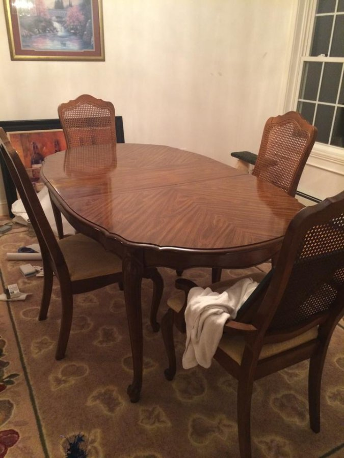Dining room with hutch new hampshire exeter area 399 for Dining room hutch for sale