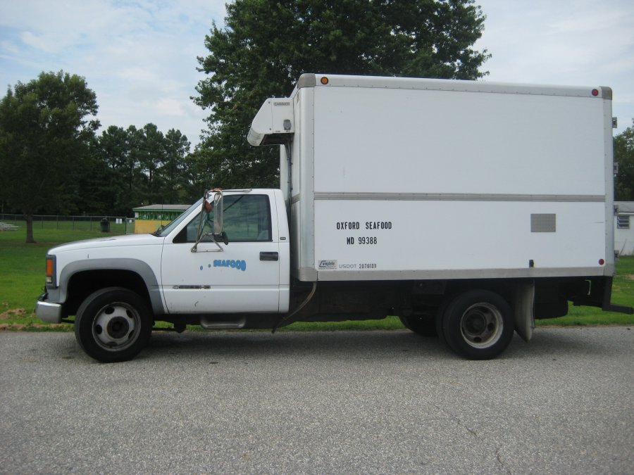 Refrigerated Truck Vehicle : Refrigerated diesel truck maryland cambridge