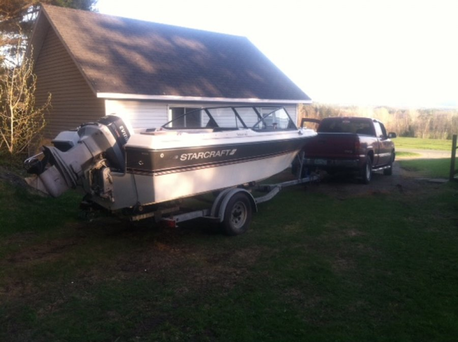 1988 17 Foot Starcraft With Trailer And 140 Hp Motor