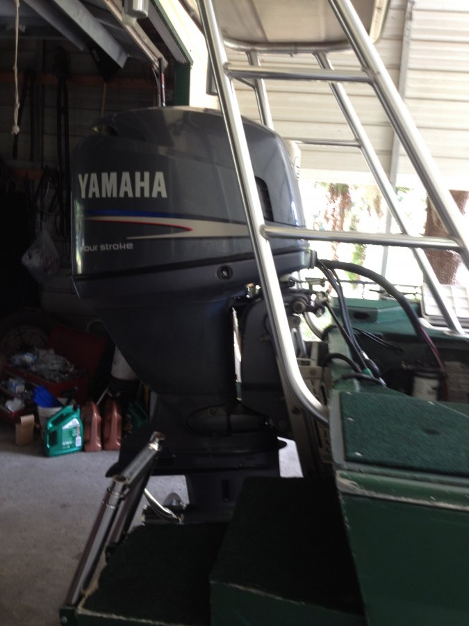 2007 yamah f 115 outboard motor florida crystal river for Black friday trolling motor deals