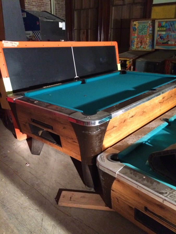 how to put pool table together