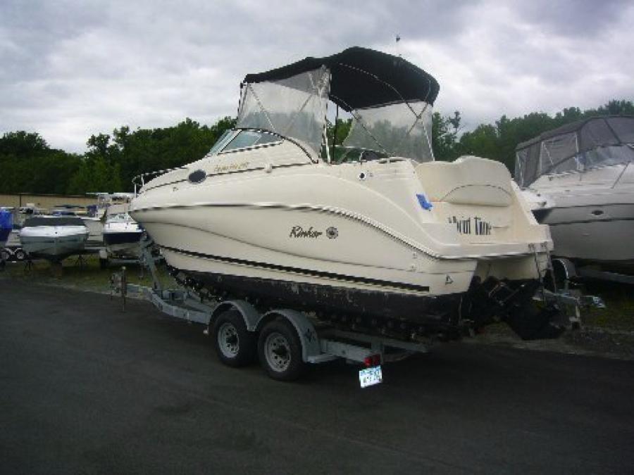 2000 Rinker 242 Fiesta Vee Amp Trailer New Haven Cheshire Connecticut Boat