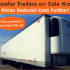 Reefer Trailers on Sale Now! 2005, 2006 & 2009 Wabash Reefers offer Truck