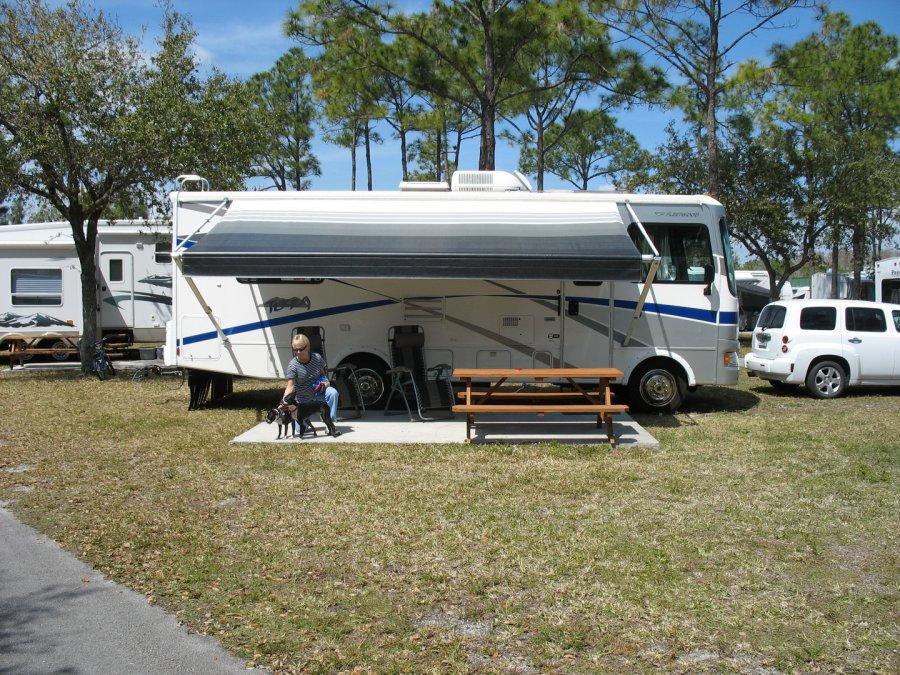 2007 Class A Fleetwood Terra Motor Home Florida 33919