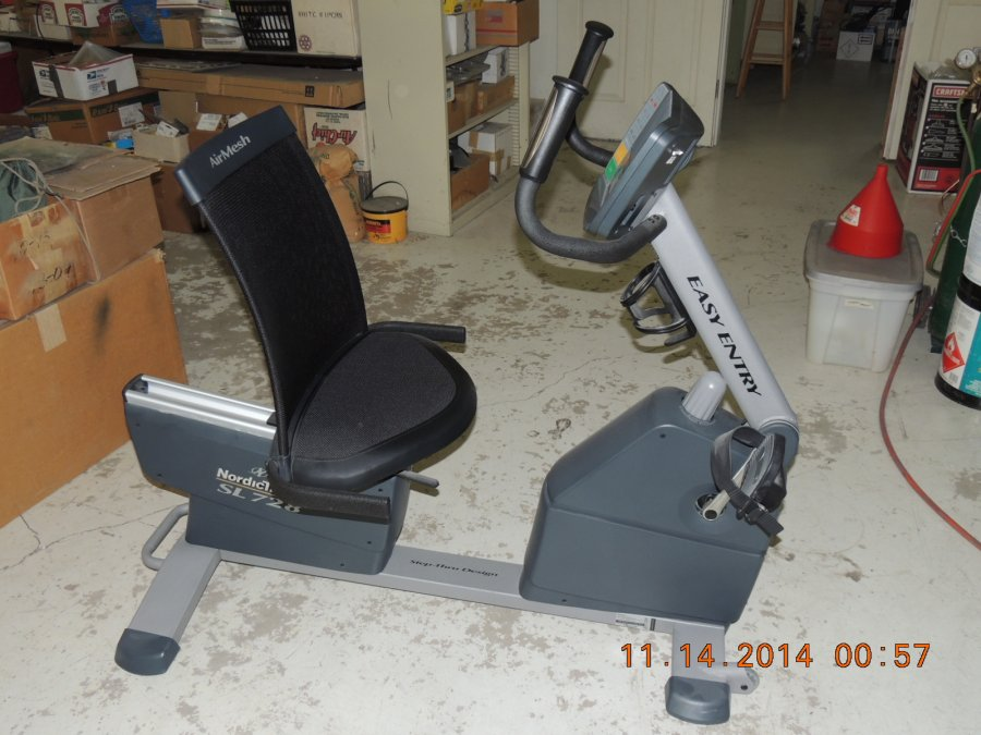 nordic track sl728 exercycle oregon independence 250. Black Bedroom Furniture Sets. Home Design Ideas
