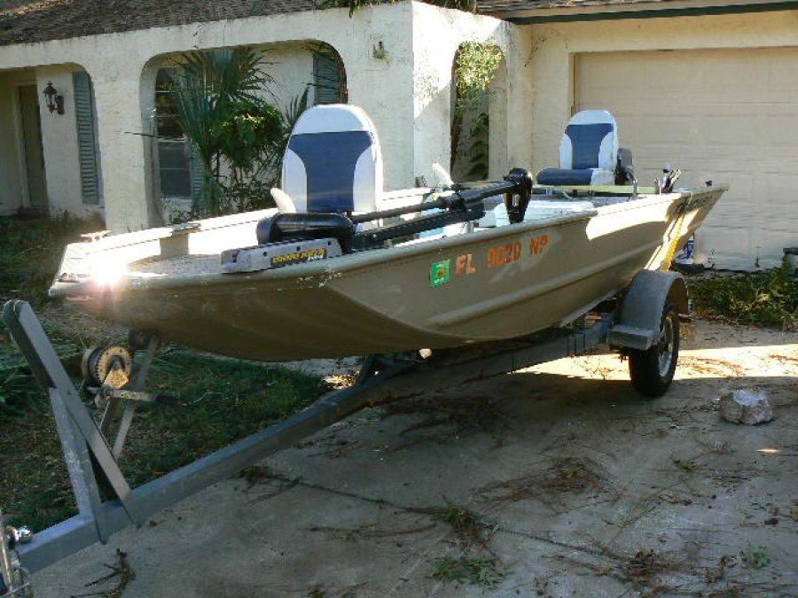 John boat with trailer jacksonville 32225 4700 boat for Black friday trolling motor deals