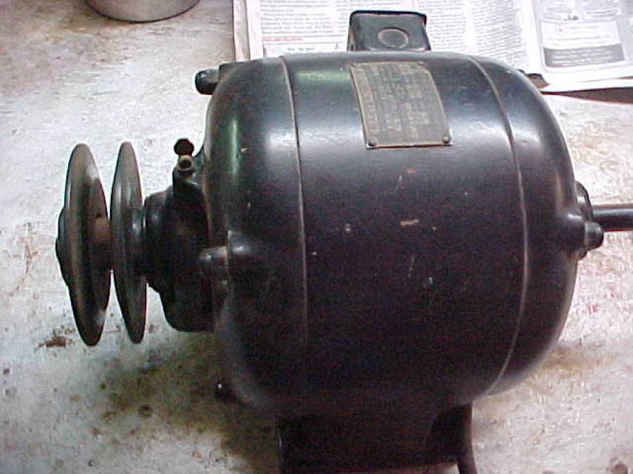 Electric motor manufactured by the master electric dayton for Lonne electric motors usa