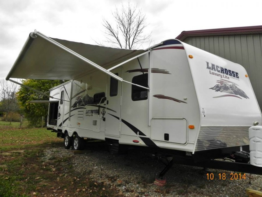 2012 Forest River Lacrosse 318 Bhs Travel Trailer