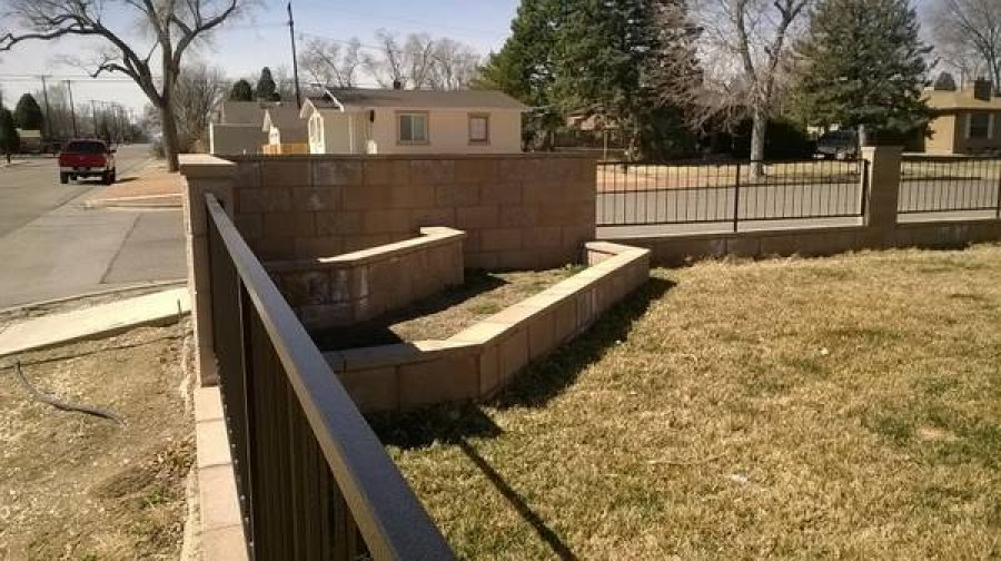 Concrete stucco roofing masonary block walls pueblo for Concrete block stucco
