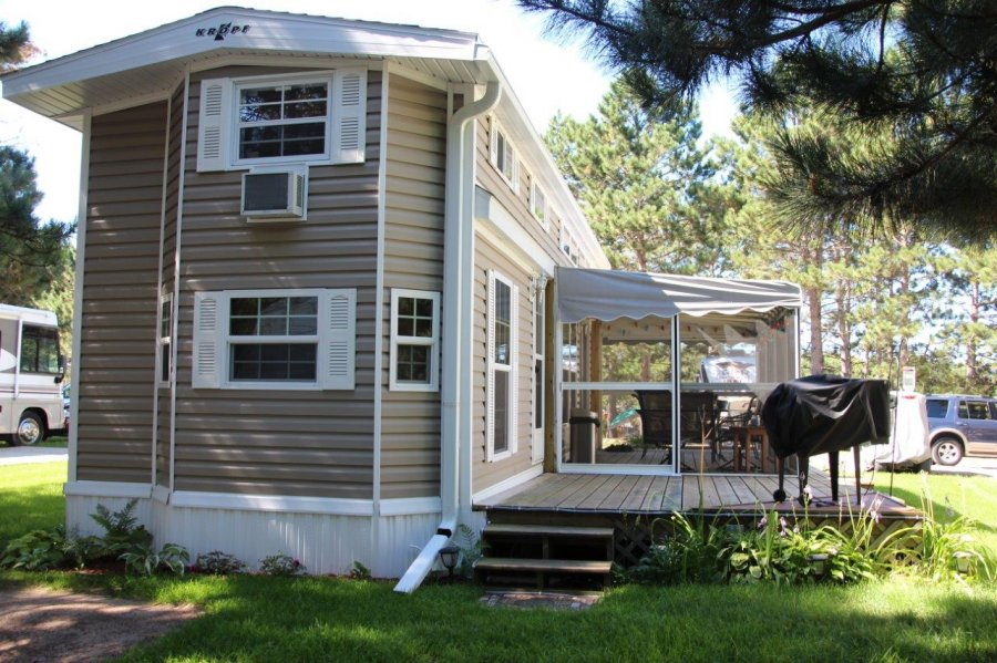 2013 Kropf Park Model Island Super Loft - $47,500 (Breezy Point, MN ) | Minnesota Breezy Point ...