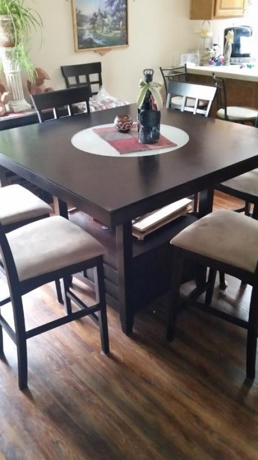 Counter Height Table And Chairs For Sale : Counter Height dinning room table and chairs Rockford 61008 $250 ...