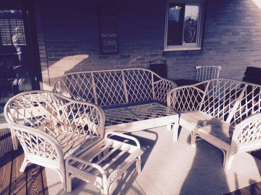 Outdoor wicker furniture Pittsburgh Brentwood $250