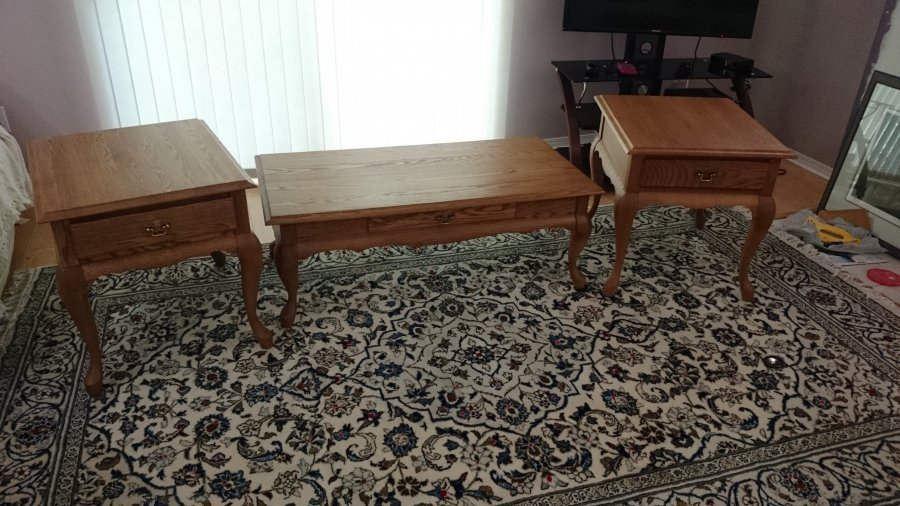 Queen Anne Coffee Table And End Tables British Columbia V2x 0l7 Maple Ridge Home And