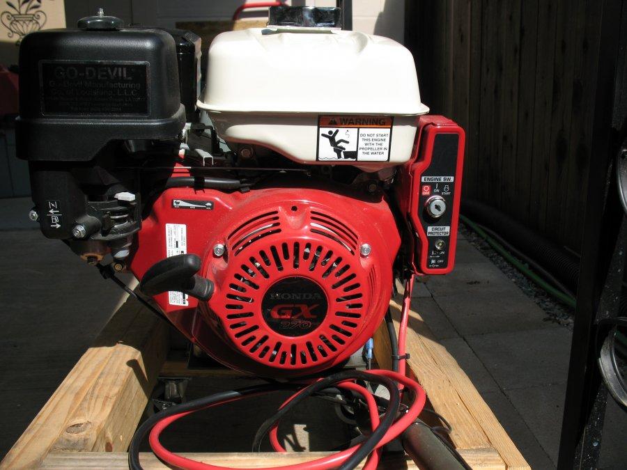 Go Devil Outboard Motor 9 5 Hp Honda Motor Fresno 93720