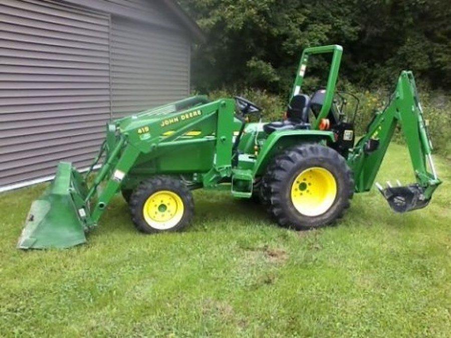 John Deere Garden Tractors 4x4 : John deere tractor philadelphia