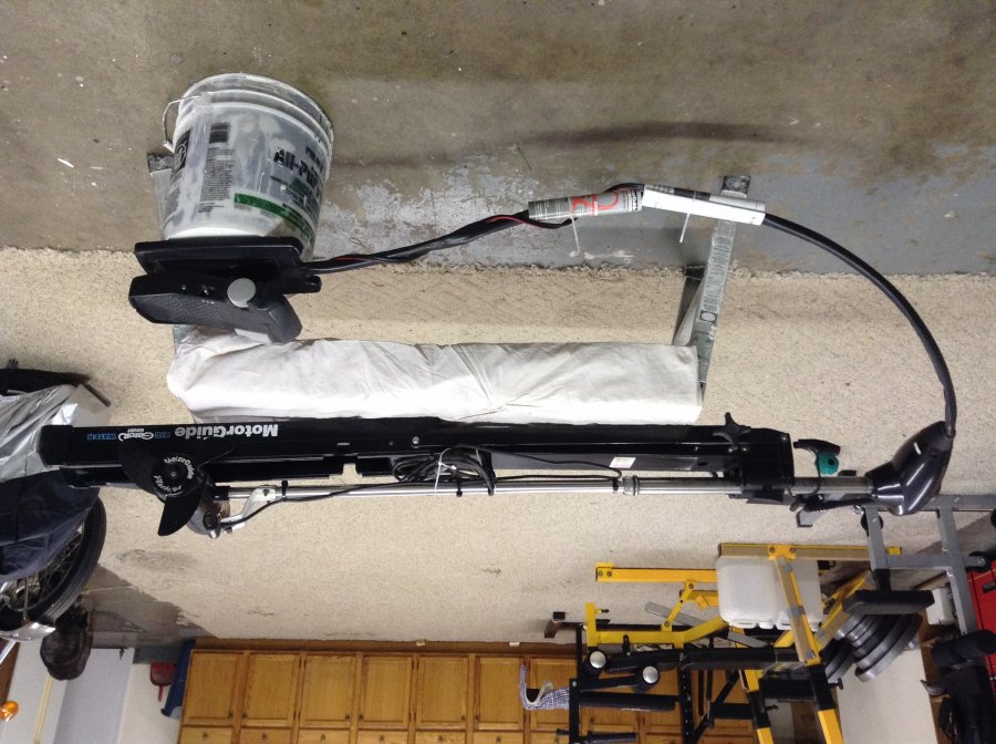 Motor guide bow mount trolling motor madison 53566 for Black friday trolling motor deals