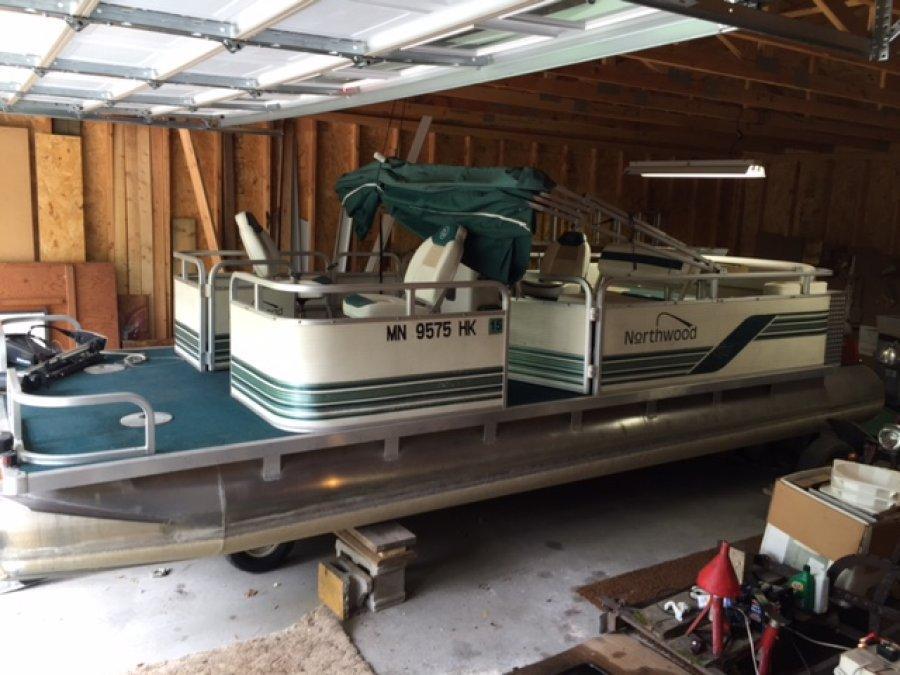 1998 northwoods pontoon minnesota 56382 swanville mn for Black friday trolling motor deals