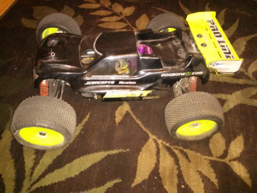 All Wheel Drive Rc Cars : Mugen all wheel drive truggy gas powered rc car san jose