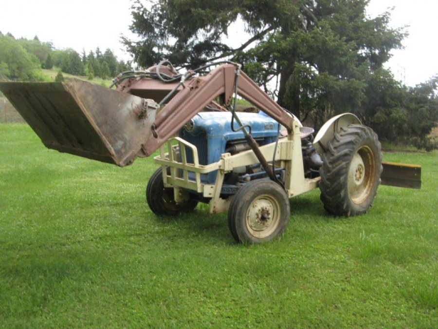 Ford Tractor 800 Series Front Bumper : Series ford tractor oregon  lawn and