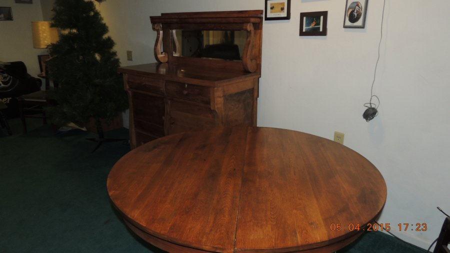 100 year old table and hutch green bay 54166 shawano wi