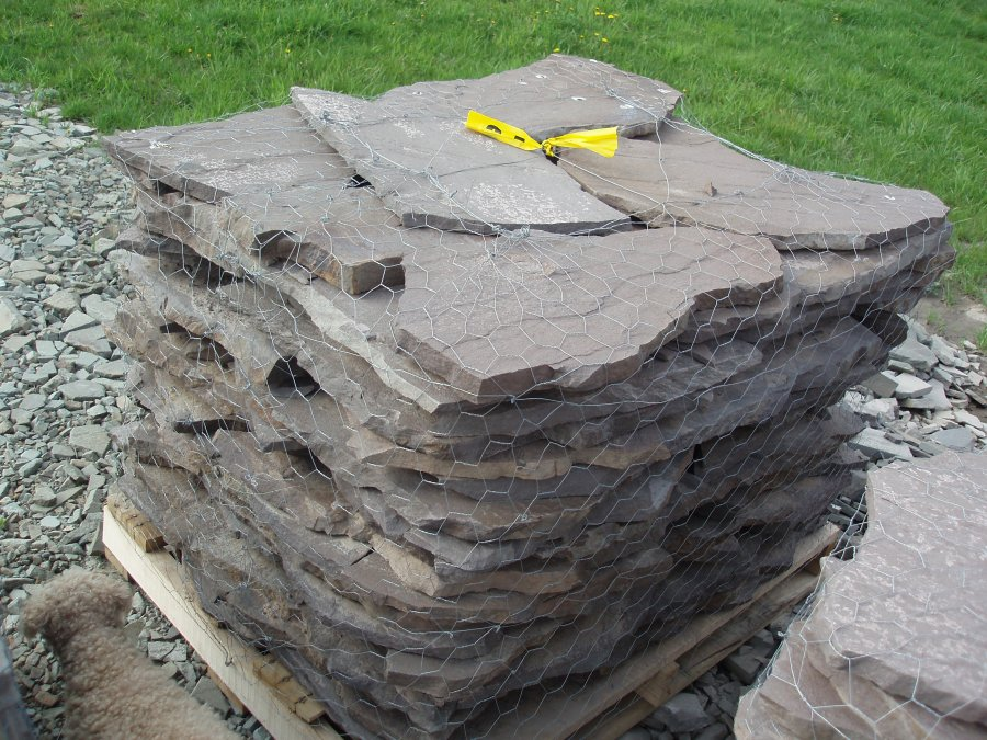 Landscaping Rock York Pa : Flagstone wholesale quarry direct pa flag landscape stone