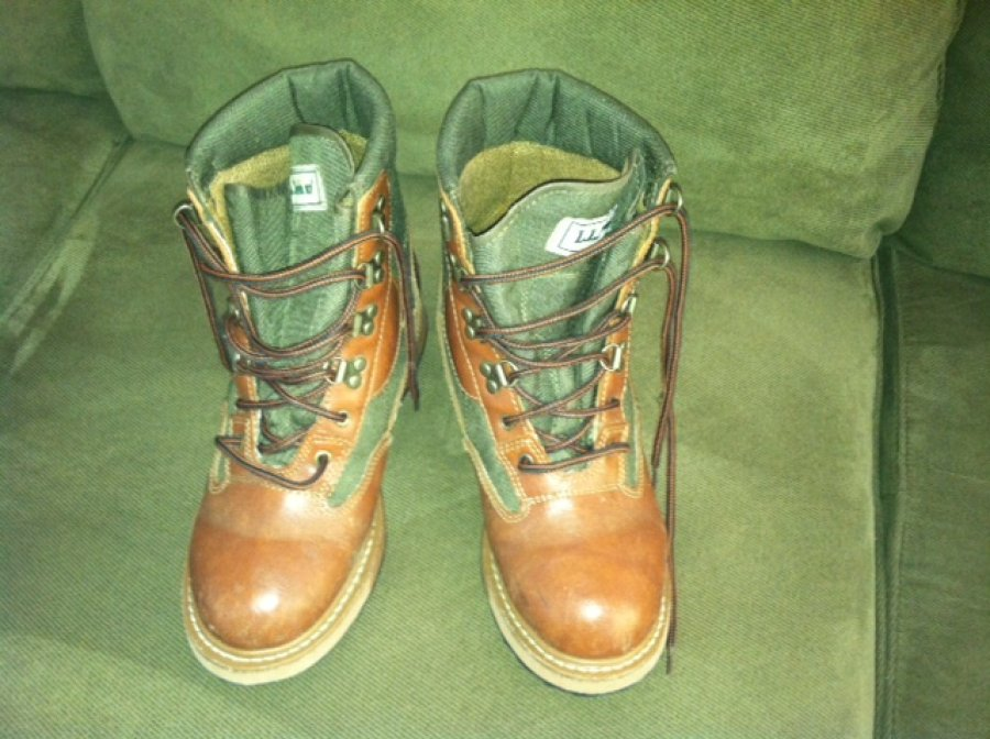 Fly fishing wader boots ll bean maine 04074 scarborough for Ll bean fishing