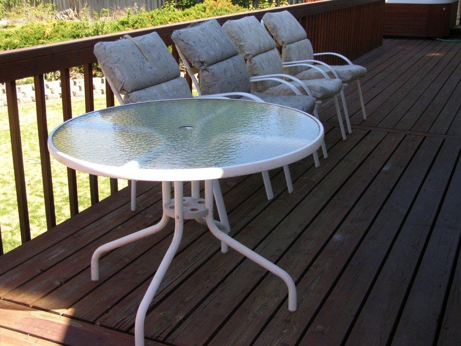 Five Piece Outdoor Lawn Furniture Spokane Spokane Valley