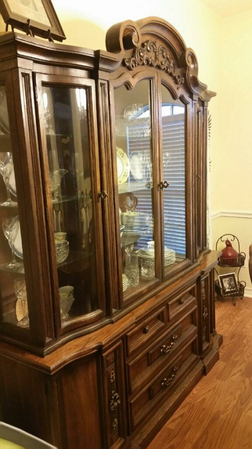 dining room set 6 chairs china cabinet corpus christi